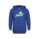 Youth Royal Fleece Hoodie-Primary Athletic Mark