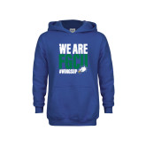 Youth Royal Fleece Hoodie-We Are FGCU