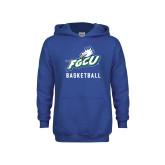 Youth Royal Fleece Hoodie-Basketball