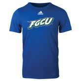 Adidas Royal Logo T Shirt-FGCU