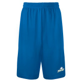 Performance Royal 9 Inch Length Shorts-Primary Athletic Mark
