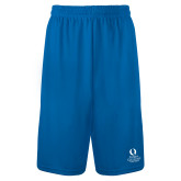 Performance Classic Royal 9 Inch Short-University Mark Stacked