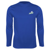 Syntrel Performance Royal Longsleeve Shirt-Primary Athletic Mark