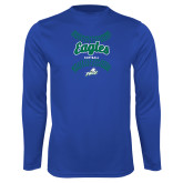 Syntrel Performance Royal Longsleeve Shirt-Softball Seams