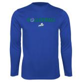 Performance Royal Longsleeve Shirt-Volleyball w/ Ball