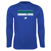 Performance Royal Longsleeve Shirt-Swimming and Diving Stacked