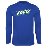 Syntrel Performance Royal Longsleeve Shirt-FGCU