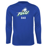 Performance Royal Longsleeve Shirt-Dad