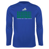 Syntrel Performance Royal Longsleeve Shirt-Basketball Triple Stacked
