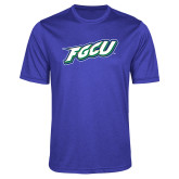Performance Royal Heather Contender Tee-FGCU