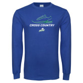Royal Long Sleeve T Shirt-Cross Country Shoe
