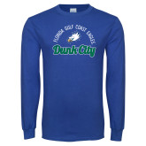 Royal Long Sleeve T Shirt-Dunk City Script