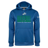 Under Armour Royal Performance Sweats Team Hoodie-Basketball Triple Stacked