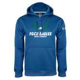 Under Armour Royal Performance Sweats Team Hoodie-Cross Country Wings
