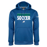 Under Armour Royal Performance Sweats Team Hoodie-Stacked Soccer