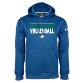 Under Armour Royal Performance Sweats Team Hoodie-Volleyball Stacked