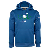 Under Armour Royal Performance Sweats Team Hoodie-Golf Flag and Ball