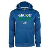 Under Armour Royal Performance Sweats Team Hood-Game Set Match Tennis