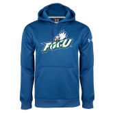 Under Armour Royal Performance Sweats Team Hoodie-Primary Athletic Mark