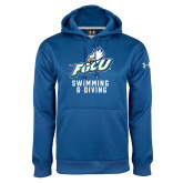 Under Armour Royal Performance Sweats Team Hoodie-Swimming and Diving