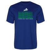 Syntrel Performance Royal Tee-Basketball Triple Stacked