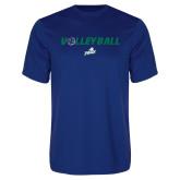 Performance Royal Tee-Volleyball w/ Ball