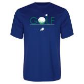 Syntrel Performance Royal Tee-Golf Flag and Ball