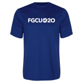 Syntrel Performance Royal Tee-FGCU at 20 Flat