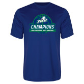 Syntrel Performance Royal Tee-ASUN Champions 2017 Mens Basketball
