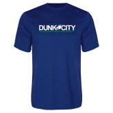 Syntrel Performance Royal Tee-Dunk City Official Logo