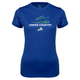 Ladies Syntrel Performance Royal Tee-Cross Country Shoe