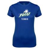Ladies Syntrel Performance Royal Tee-Tennis