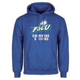 Royal Fleece Hoodie-Swimming and Diving