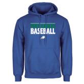 Royal Fleece Hoodie-Baseball Stacked