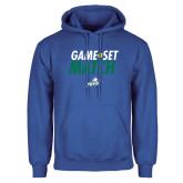 Royal Fleece Hoodie-Game Set Match Tennis