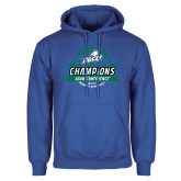 Royal Fleece Hoodie-Asun Conference 2017 Womens Basketball Champions