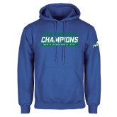 Royal Fleece Hood-ASUN Champions 2017 Mens Basketball