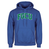 Royal Fleece Hoodie-Arched FGCU