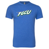 Next Level Vintage Royal Tri Blend Crew-FGCU
