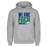 Grey Fleece Hoodie-We Are FGCU