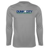 Performance Steel Longsleeve Shirt-Dunk City Official Logo