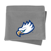 Grey Sweatshirt Blanket-Eagle Head