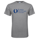 Grey T Shirt-University Mark Flat