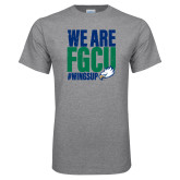Grey T Shirt-We Are FGCU