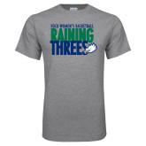 Grey T Shirt-Raining Threes