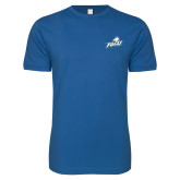 Next Level SoftStyle Royal T Shirt-Primary Athletic Mark
