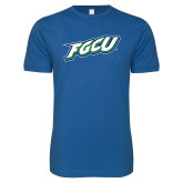 Next Level SoftStyle Royal T Shirt-FGCU