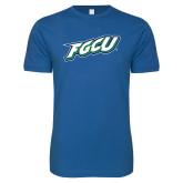 Next Level SoftStyle Royal T Shirt-FGCU