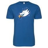 Next Level SoftStyle Royal T Shirt-Eagle Head