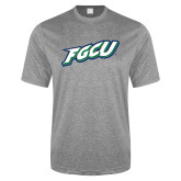Performance Grey Heather Contender Tee-FGCU